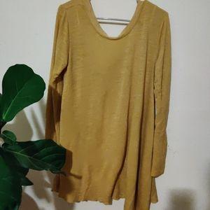FP BEACH cute long oversized shirt or dress